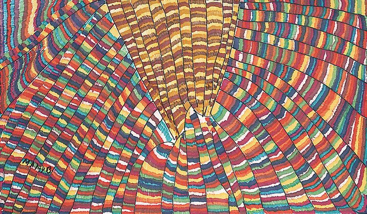 Mary Belknap Golden Mountain, 2005 colored pencil on paper