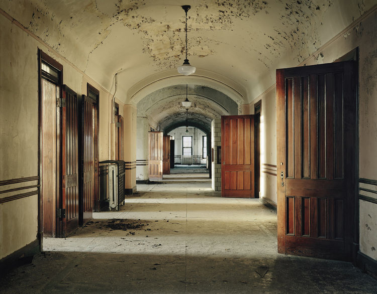 This was a typical ward at Kanakee State Hospital in Kanakee, Illinois.