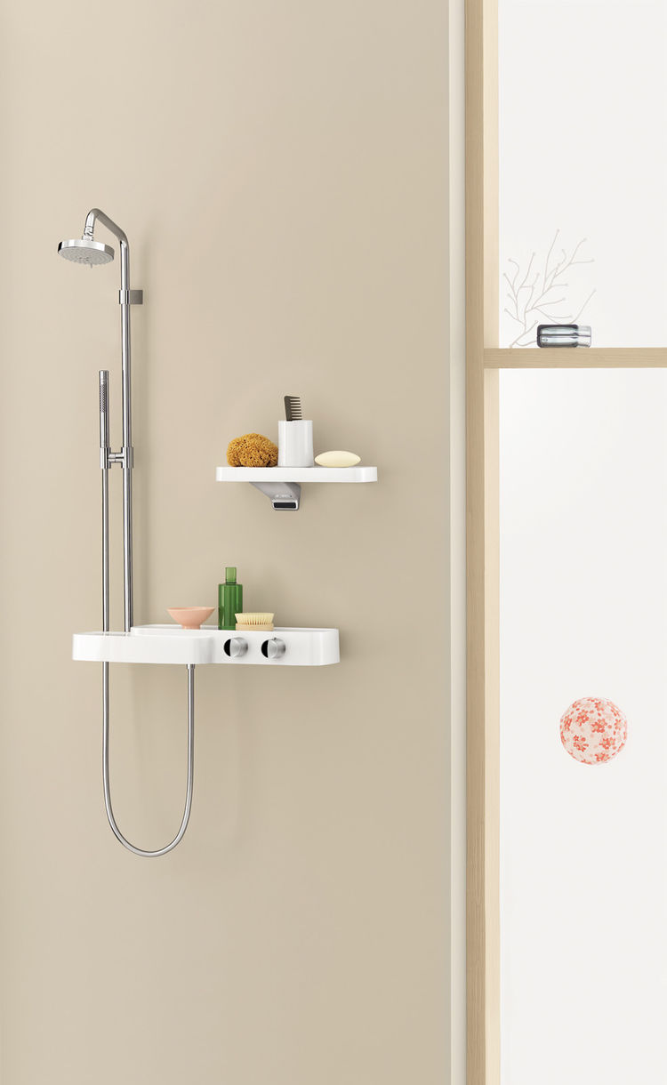 The Axor Bouroullec shower.