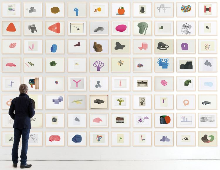 """""""Album"""" (on view at the Arc en Rêve architecture center in Bordeaux until April 24) brings together about 800 documents from the Bouroullec's archive, from rough sketches to preparatory drawings to photographs—many of them never shown before. The idea, sa"""