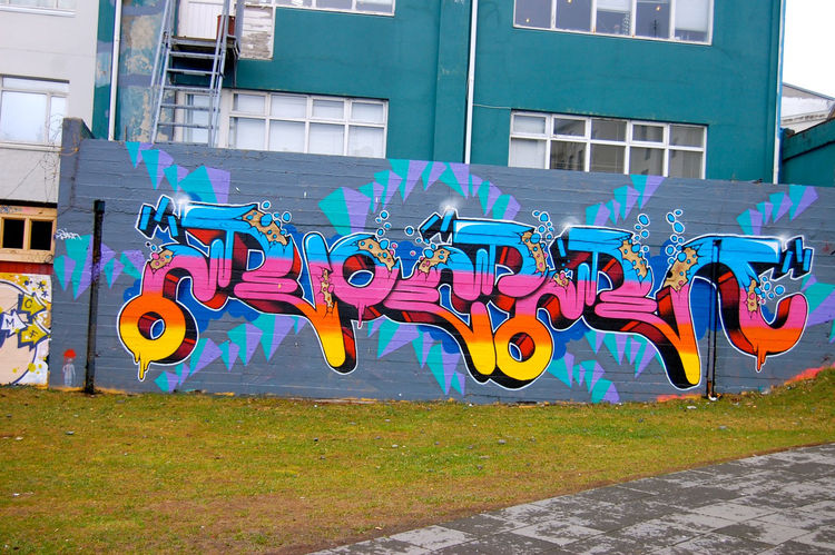 Reykjavik, like many cities, is covered in pockets of graffiti. But here the graffiti seemed even more colorful. Gone was a the grime in cities like New York.