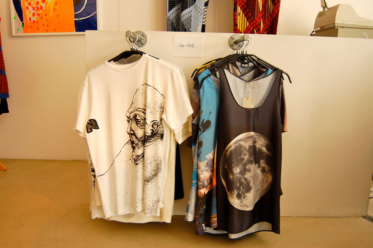 My favorite shop discovered was Icelandic designer Mundi's boutique, which featured graphic t-shirts.