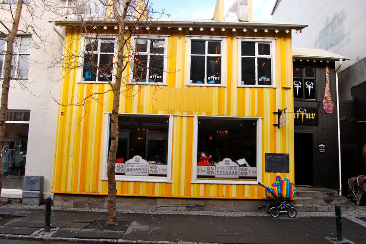 "Babies sleep in carriages outside in the cold while mothers drink tea in the warmth. This shocked me almost as much of the rainbows of color all over Reykjavik!<br /><br /><p><em><strong>Don't miss a word of Dwell! Download our </strong></em><a href=""http"