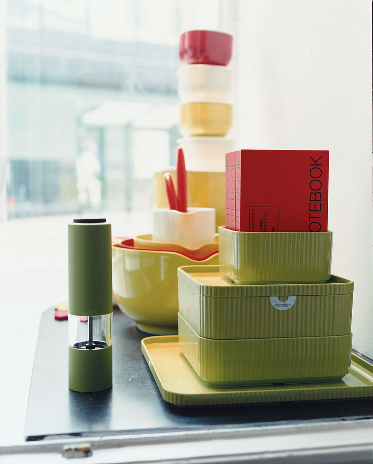 Top-Mouton started with interior design, but branched out into other areas, including home accessories.