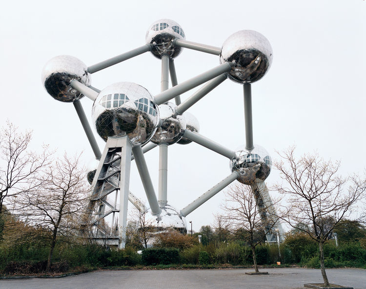 Built in 1956 for the World's Fair, the Atomiumis an homage to the future. It recently reopened after a complete renovation.