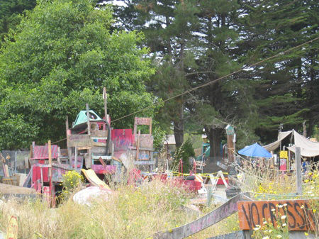"The ""Adventure Playground"" was born out of the bomb sites of WWII when architect Theodor Sorenson noticed children happily making their own playscapes out of rubble while ignoring traditional playgrounds that had been built to entertain them. The drive to"