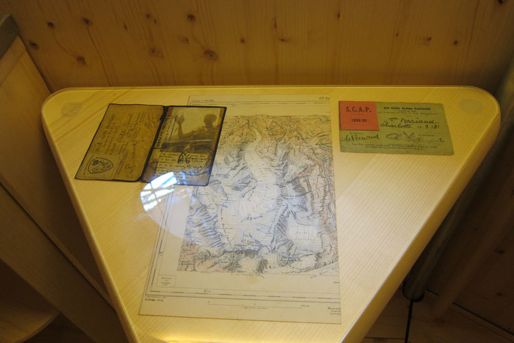 Perriand-Barsac also shared correspondence, maps, and other ephemera from her mother's archives.