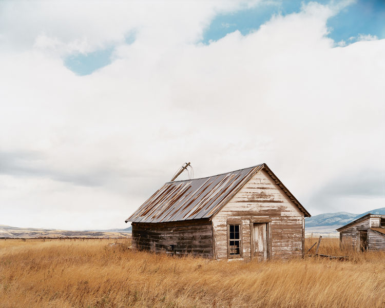 """""""I see great tradition here,"""" says Cho, admiring old farm buildings like the house shown here. Development and sprawl are a looming threat, even in relatively small Bozeman."""