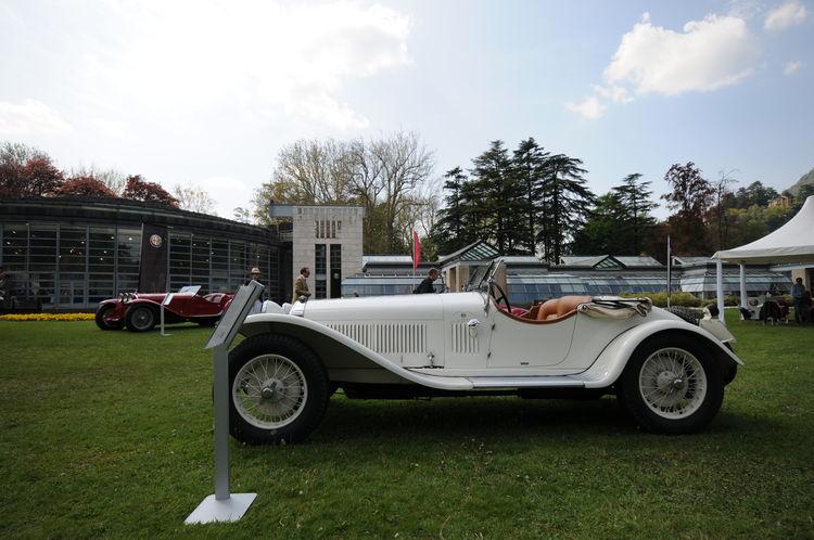 A 1931 Alfa Romeo 6C 1750 Gran Sport Zagato Spider.