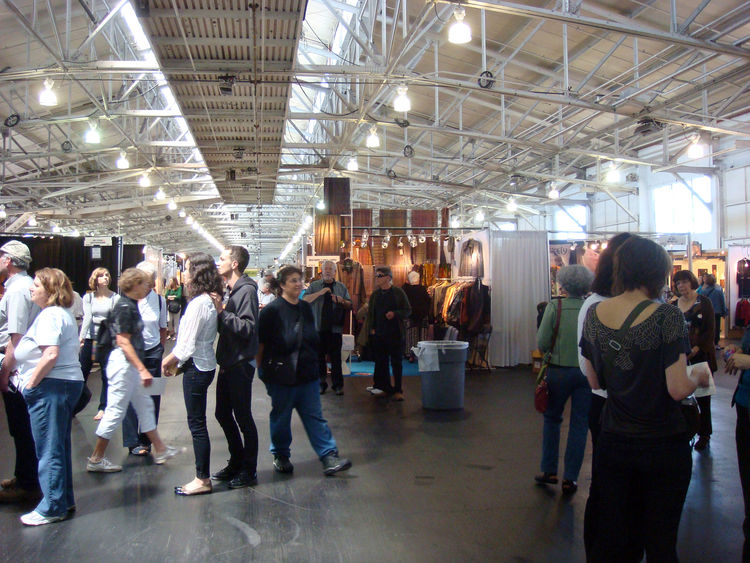 The American Craft Council held its 70th annual show at Fort Mason August 12th-14th.