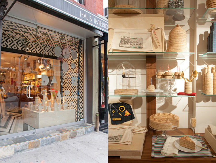 "Wood Shop is located in decorator Nina Freudenberger's shop <a href=""http://hausinterior.com/"">Haus Interior</a> at 250 Elizabeth Street in Nolita."