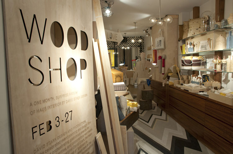 "The Wood Shop products, which range from $5 to $500, are also available on the <a href=""http://hausinterior.com/index.php/exhibitions.html/"">Haus Interiors website</a>, but they're especially fetching displayed in situ. Check it out in person through Febr"
