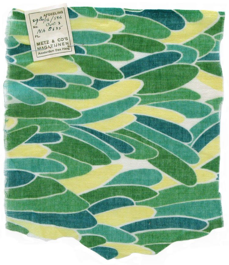 Design 1044, designed by Sonia Delaunay, France, 1930–31. Printed cotton georgette. Private collection. © L & M SERVICES B.V. The Hague 20100623. Photo: © private collection.