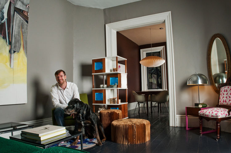 Shaun Moore is co-owner of MADE, a retailer that specializes in furniture created by Canadian designers.