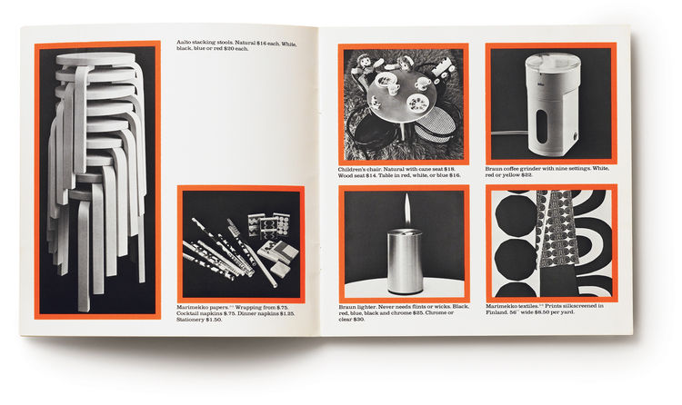 In the '60s, Design Research sold Aalto Stacking Stools for $20 apiece and Marimekko cocktail napkins for 75 cents each.
