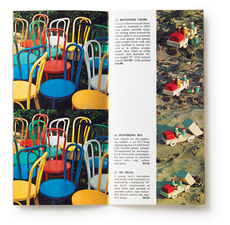 From chairs to toys, as long as it was well designed, Design Research would carry it. The Lyndons kept this message close for more than 30 years.