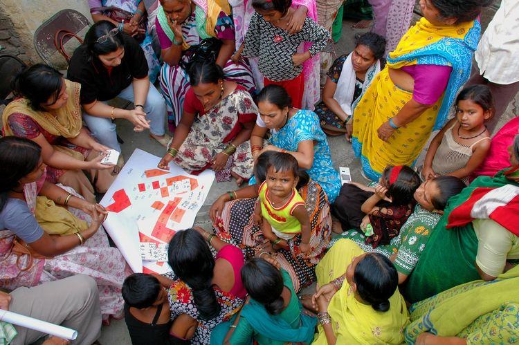 """Yerwada Slum Upgrading Project,"" SPARC Samudaya Nirman Sahayak (SSNS) and Pune Municipal Corporation, with SPARC (Society for the Promotion of Area Resource Centres), NSDF (National Slum Dwellers' Federation), and Mahila Milan, Shack/Slum Dwellers Intern"