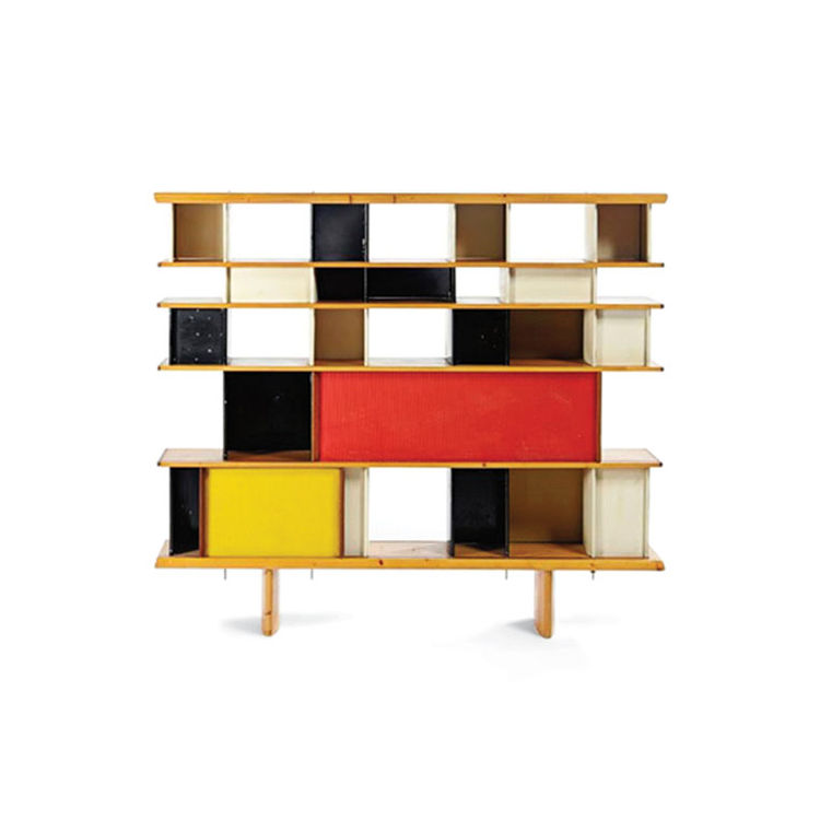 Mexique bookshelf by Charlotte Perriand and Jean Prouvé