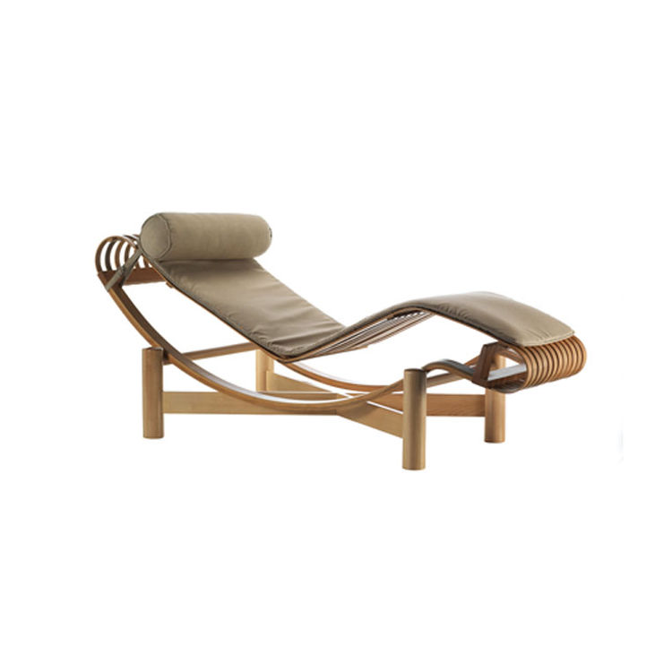 Tokyo outdoor chaise by Charlotte Perriand