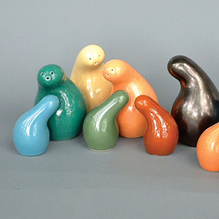 Town and Country shakers by Eva Zeisel