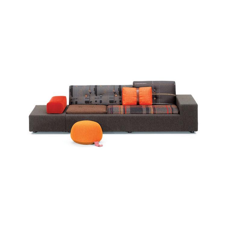 Polder sofa with Maharam fabric by Hella Jongerius