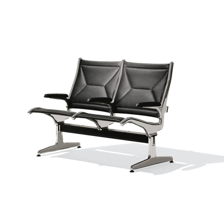 O'Hare International Airport Tandem sling seating by Ray Eames