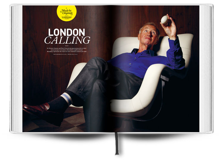 The Boundary is the rather relaxed Sir Terence Conran's London entry into the Design Hotels canon.