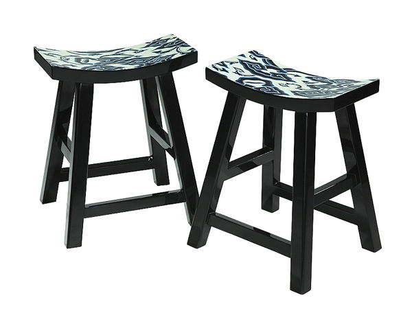 'Lacquer Stools' byJoseph Foo from Malaysia