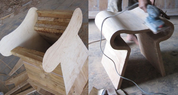 'Smile Stool' by Studio Hindia from Indonesia