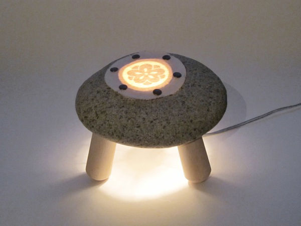 'Stone Lamp' by Shibaya from Japan