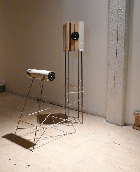 'Symbiosis' wood speakers byStanley Ruiz from the Philippines