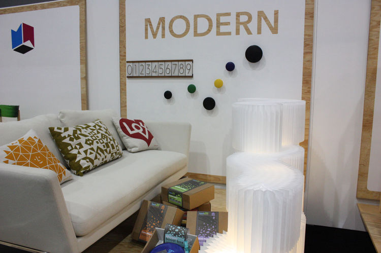 The nominees for the Modern World Awards were on display at Dwell on Design.