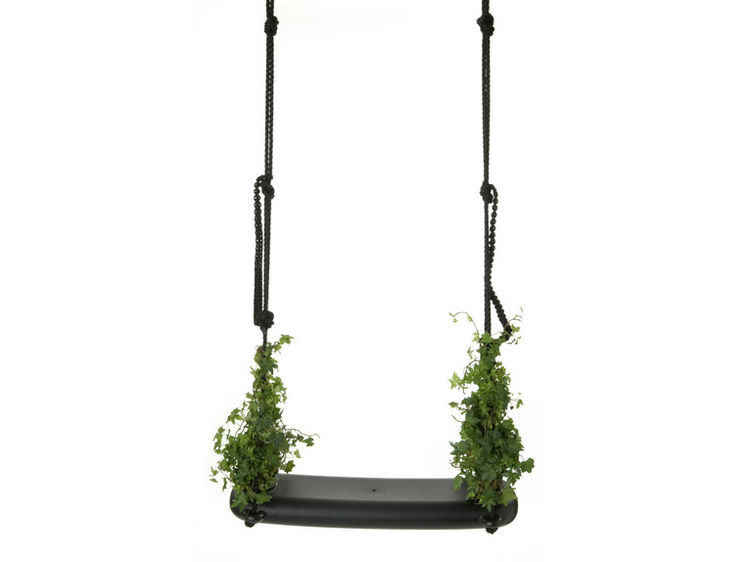 """""""Swing with Plants"""" designed by Marcel Wanders for the Dutch design house Droog."""