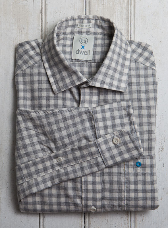 The Dwell x Taylor Stitch Architect Shirt, available at Dwell on Design.