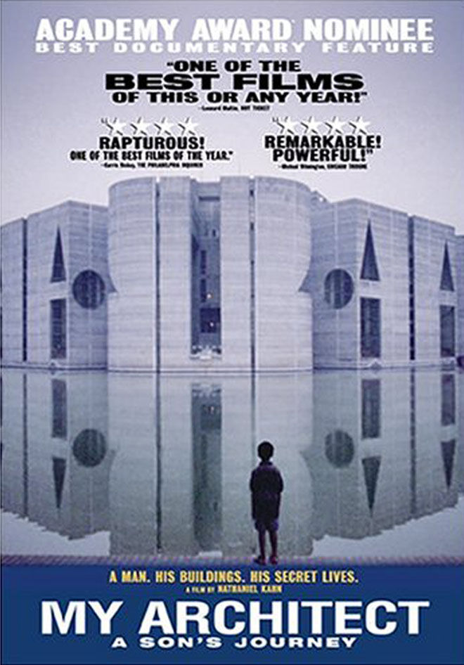 "Edward LaLonde, our project manager on Maxon House, referred us to <a href=""http://www.myarchitectfilm.com/"">My Architect</a> as a good film to watch for more architecture background. It became a film I revisit often. It follows the story of Nathaniel Kah"