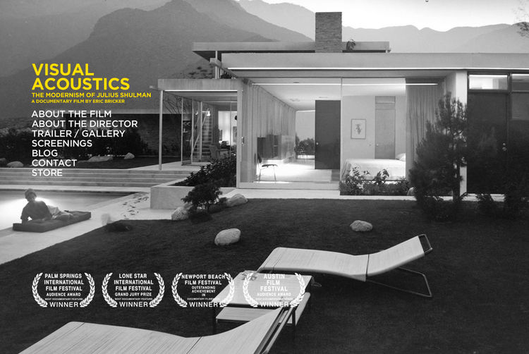"We did a lot of reading and a lot of scanning of architecture books. The timing of our project coincided with the release of <a href=""http://www.juliusshulmanfilm.com/"">Visual Acoustics</a>, the story of famed architecture photographer Julius Shulman. The"