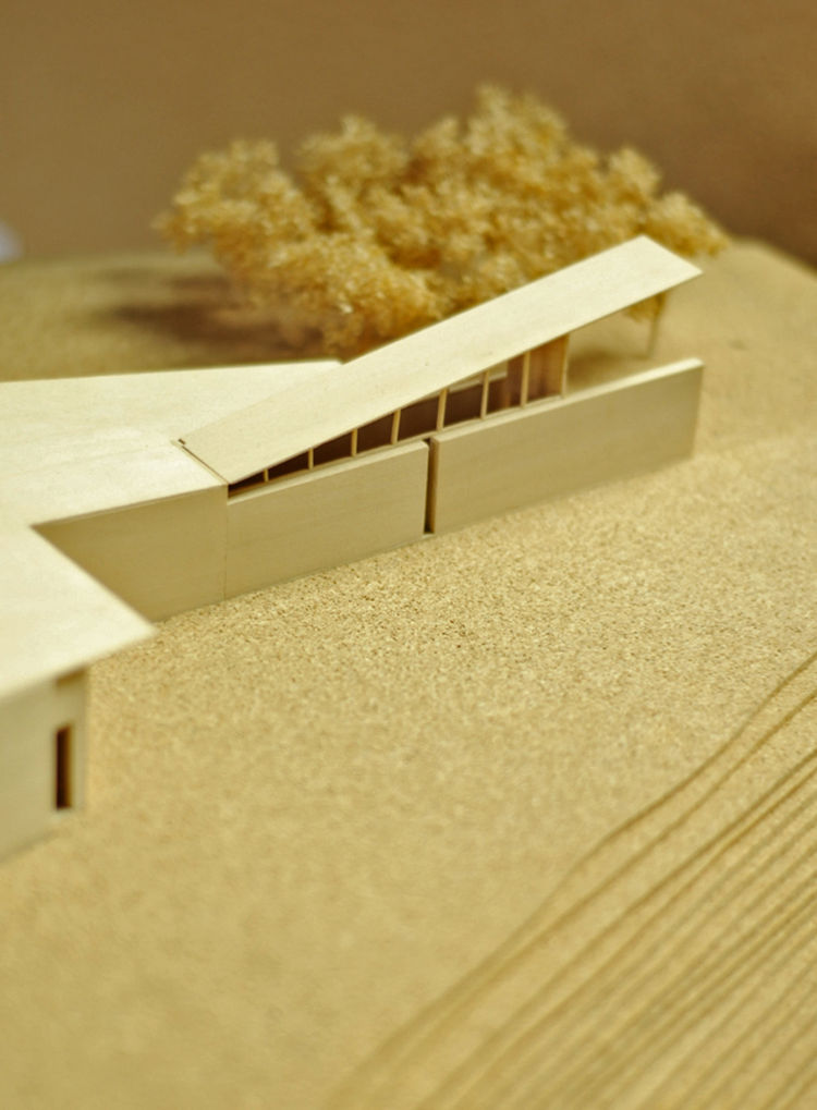 """Architectural model of Kundig's <a href=""""http://www.olsonkundigarchitects.com/Projects/160/Montecito-Residence"""">Montecito residence</a>. Photo by <a href=""""http://www.facebook.com/pages/Radford-Creative-Still-Motion-Picture/125452617526664"""">Thor Radford</a"""