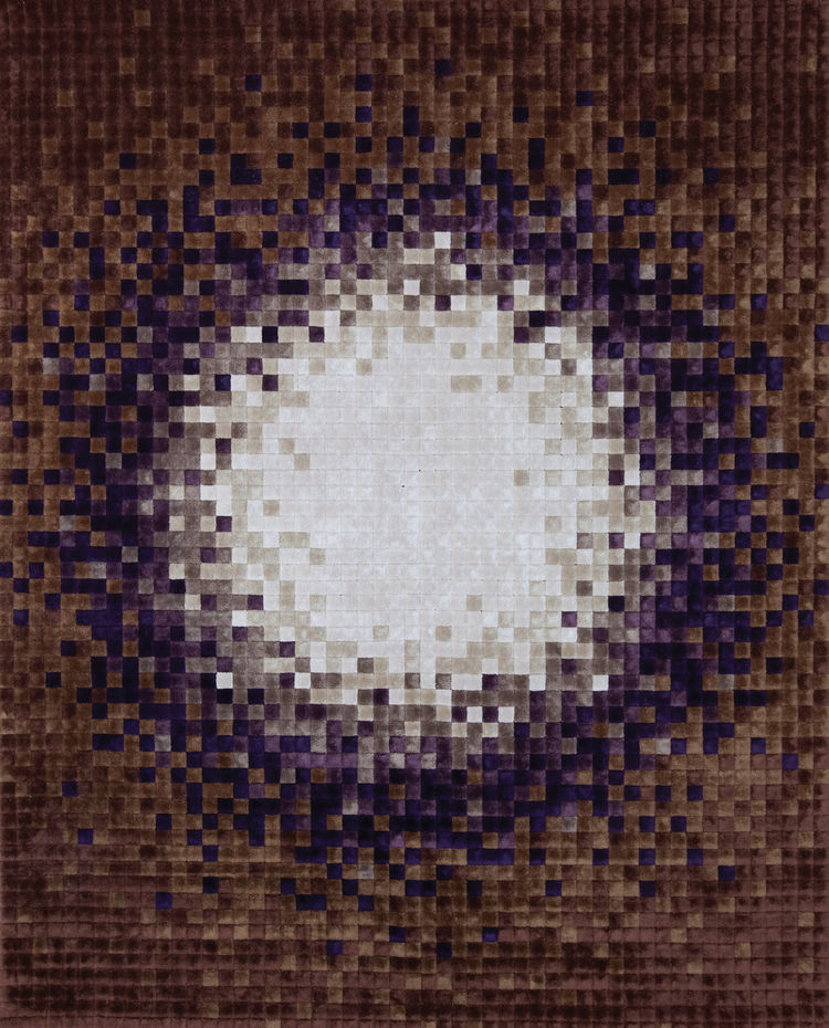 """The design of """"Computations"""" is a take on computer pixels, and was originally released in the 1970s."""