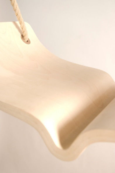 A detail of the curve in the center of the swing. Photo courtesy of Christina Fesmire.