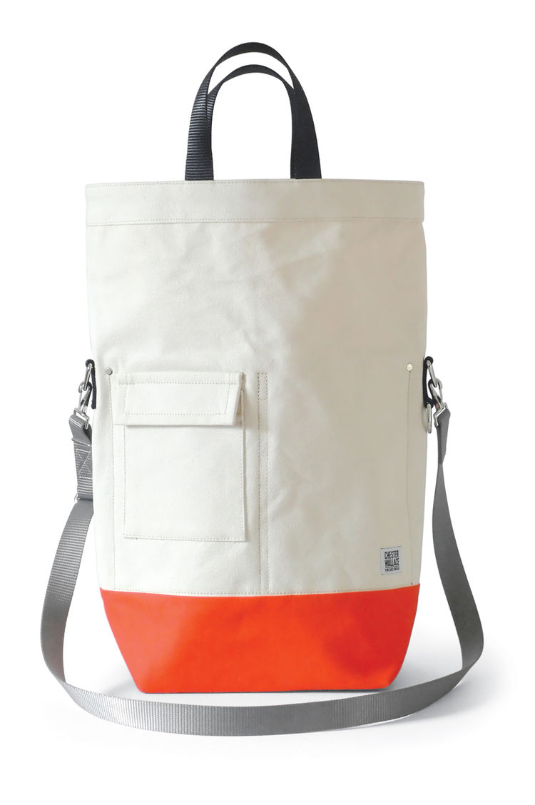 "Bag by  <a href=""http://www.chesterwallace.com"">Chester Wallace</a>."