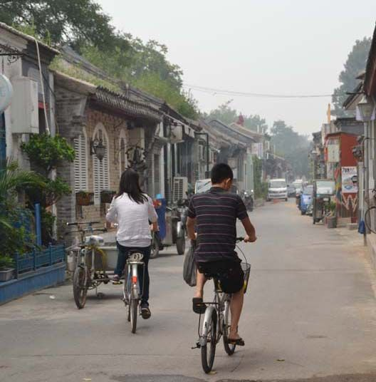 "Shahid captured this image while ""cruising through a hutong"" in Beijing. Hutongs are Beijing's narrow streets and alleys that are sadly slowly disappearing to make way for new roads, which you can read about in our ""Protect and Conserve"" article in the Ju"
