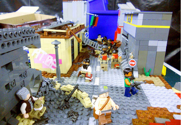 No current event is spared from satirical Lego renditions.