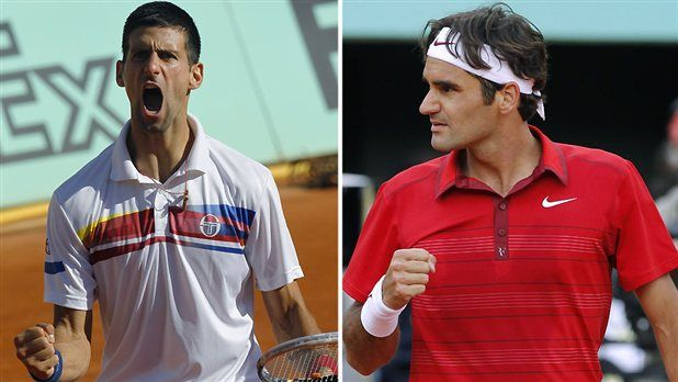 Federer vs. Djokavic: a not-to-be-missed tennis match.