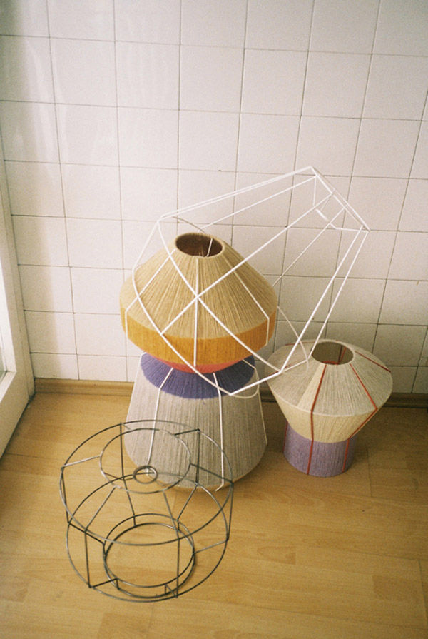 "The Ana Kras-designed ""Bonbon"" lamp."