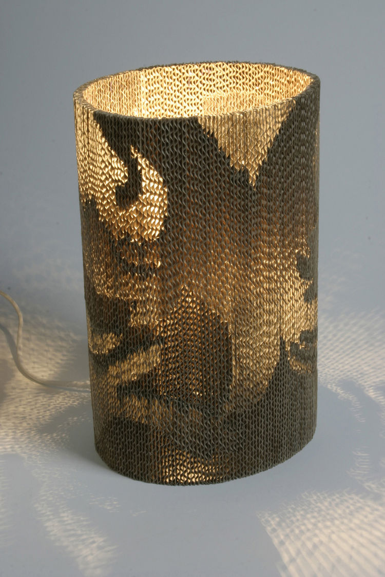 The Flute Lamp, designed in 2007.