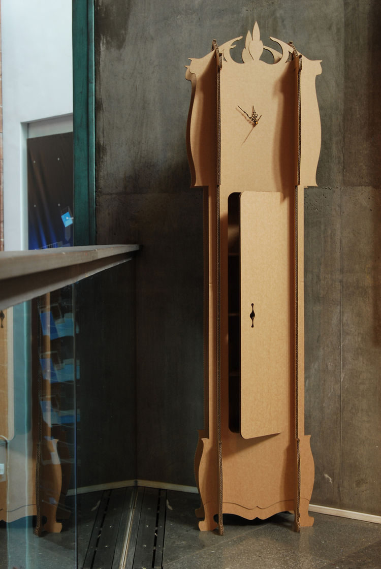Miller created the Grandfather-C clock in 2008 for Dovetusai.