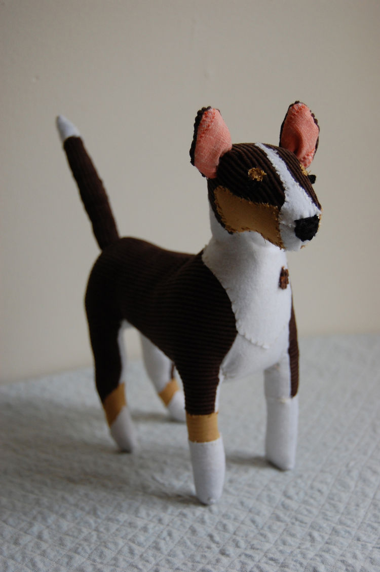 Meet Bette, a pretty damn adorable 3-D pet made by Sian Keegan.