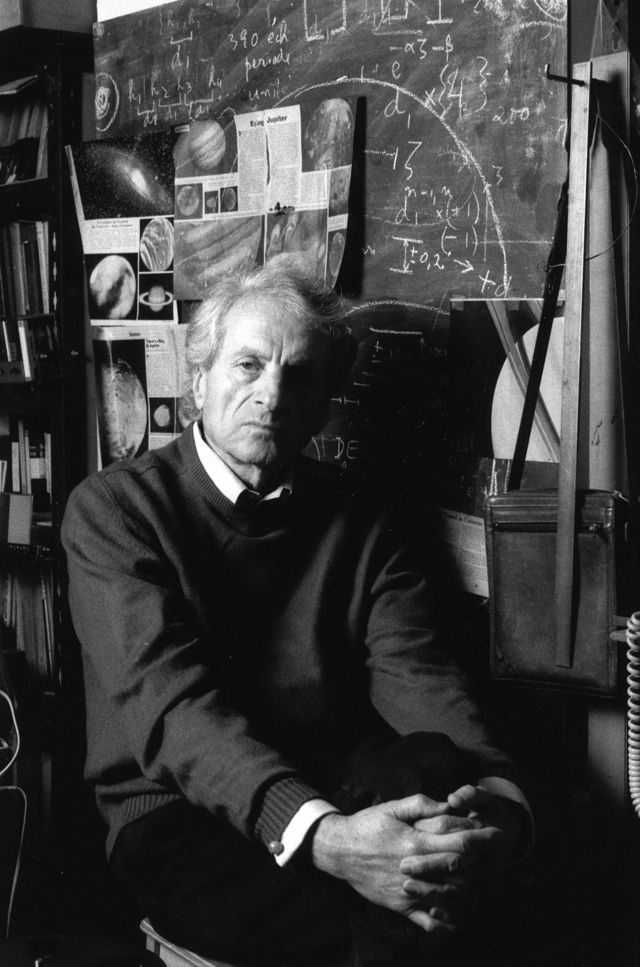 Iannis Xenakis pictured in 1995.