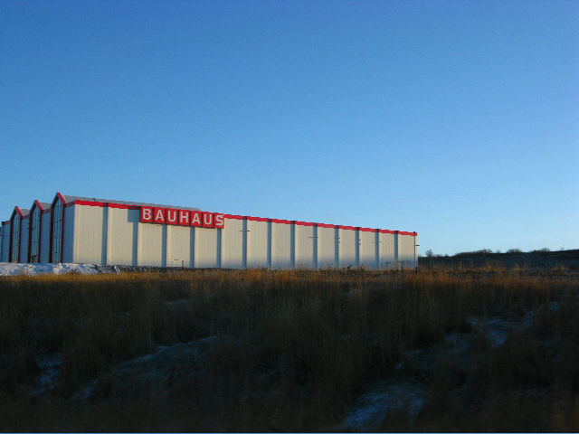 """In an empty field outside of Reykjavik looms<a href=""""<a href=""""http://www.bauhaus.info/"""">Bauhaus</a>, the German home improvement store. The company finished building this location, the first in Iceland, in the unlucky year of 2008. It has yet to open for"""