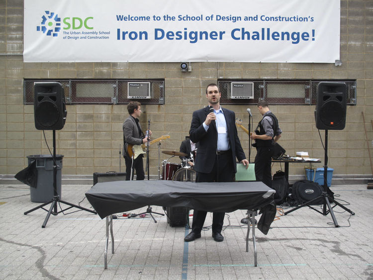 "SDC's principal (along with fittingly-named band ""Rooftop Walkers"") kicked off the event and highlighted the night's cause. ""The fundraising goal includes material supplies, field trips, portfolios and college visits for the school's inner-city high schoo"